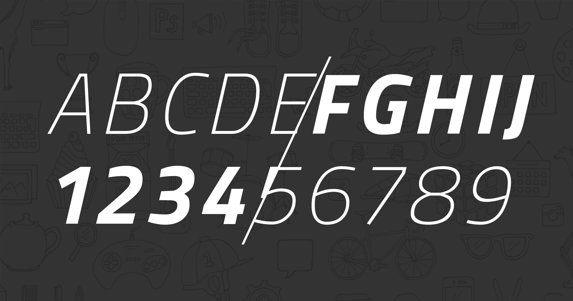 Combining web fonts