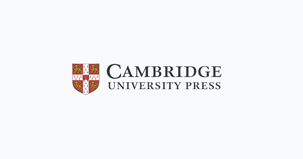 A new partnership with Cambridge University Press