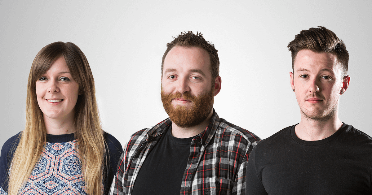 Welcoming Simon, Hayley and James to the team