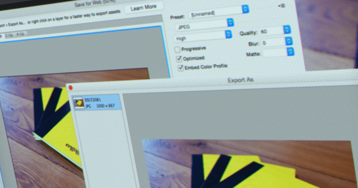 Adobe's Latest Photoshop CC Update Compresses 'Save For Web'